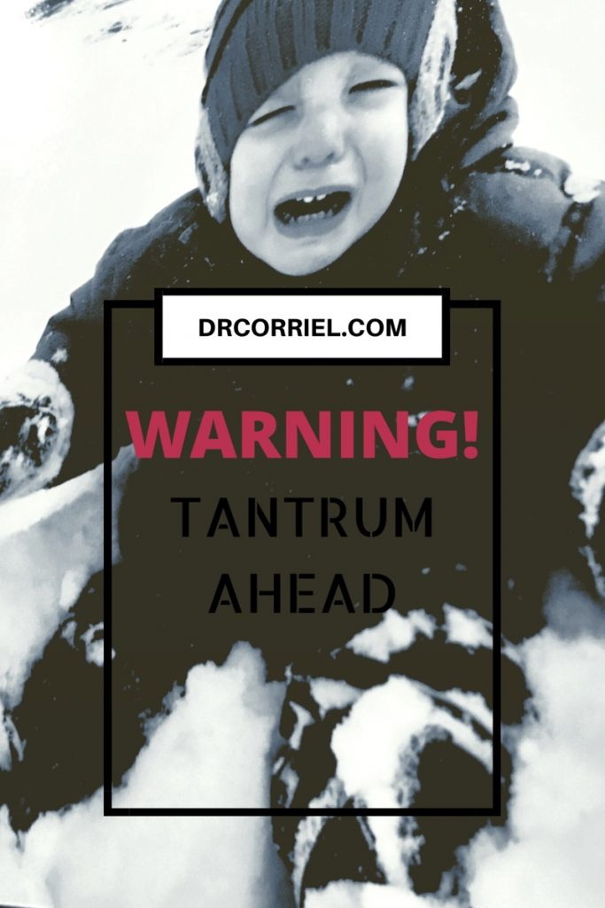 A tantrum in Action. How to Combat Tantrums: 6 ways!