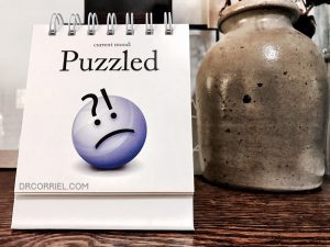 Puzzled: my reaction when a patient didn't believe I was the doctor