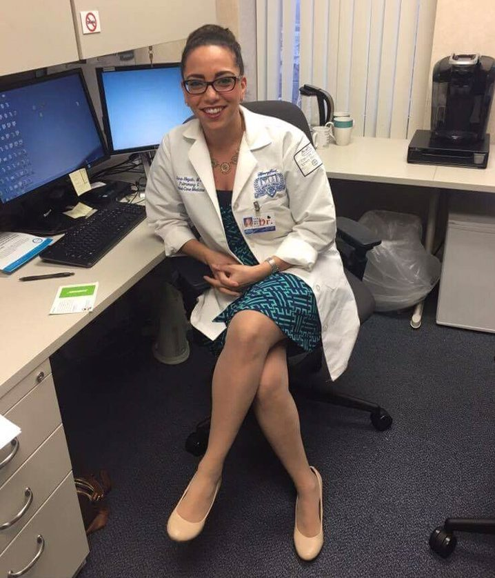 Sarah Hegab, MD, one of 7 Doctors with Brains and Style